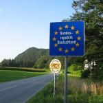 Innereuropäischer Grenzübergang