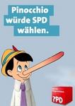 Pinoccio würde SPD wählen.