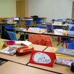 Leeres Klassenzimmer (Quelle: Wolfra@flickr.com CC BY-NC 2.0)