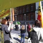 Anti-AKW-Demo vor Landeshaus